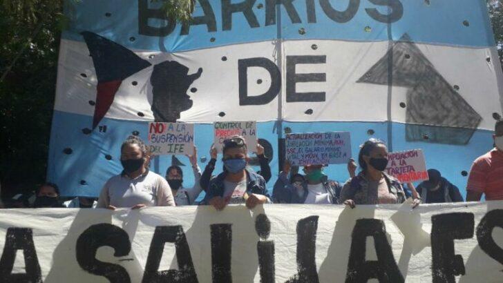 El lunes marcha Barrios de Pie por el Potenciar Trabajo