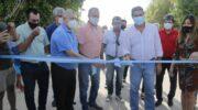 En Villa Ángela y Villa Berthet, Capitanich inauguró 22 cuadras de pavimento urbano