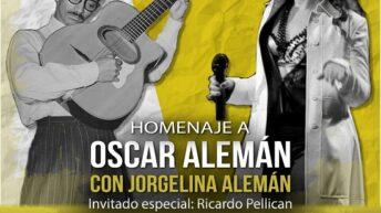 Homenaje a Oscar Alemán