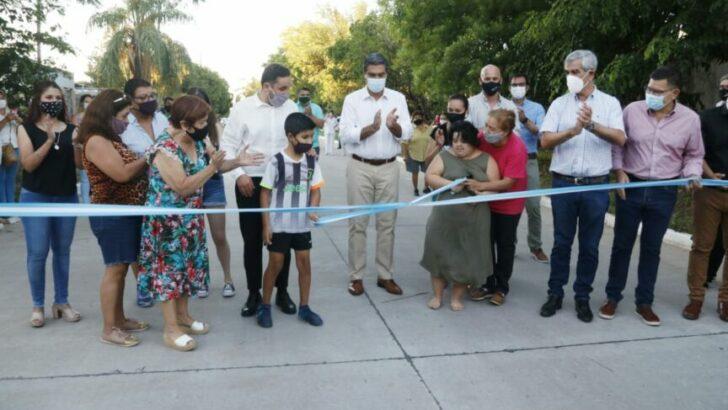 Inauguraron nueve cuadras de pavimento en el histórico barrio de Resistencia; Villa Seitor