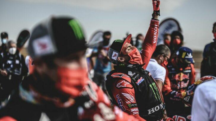 Kevin Benavides ganó el Dakar en motos