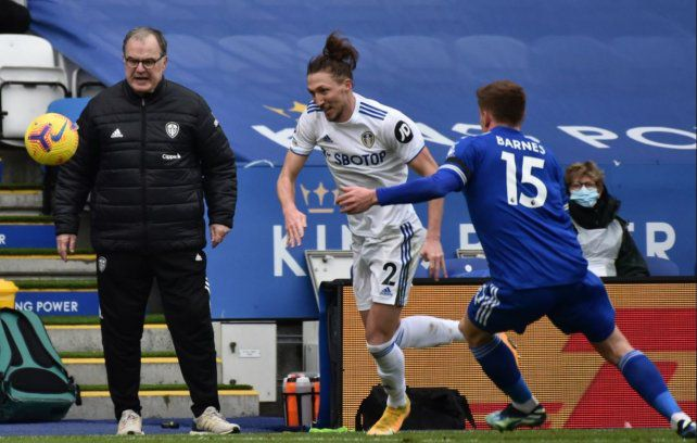 Leeds dio la sorpresa y le ganó al Leicester como visitante
