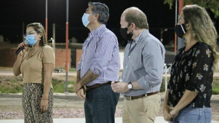 Magda Ayala inauguró junto a Capitanich el Paseo Urbano Sur