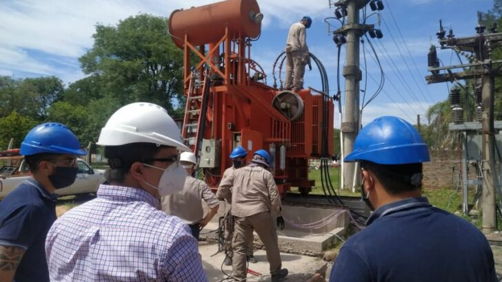 Margarita Belén: Secheep instaló un transformador de potencia