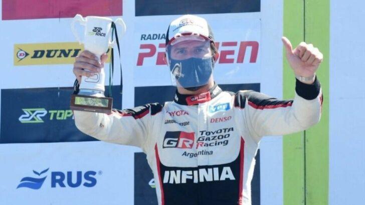 Matías Rossi ganó en Paraná