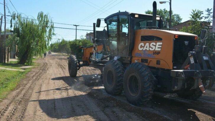 Resistencia: en Villa Federal, el programa Eco Ciudad continuó con el mejoramiento de calles no pavimentadas