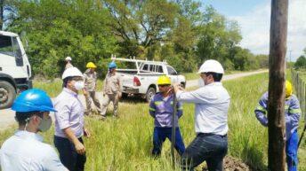 Trabajos de Secheep en Colonia Amadeo, Campo Colorado y Colonia Rossi