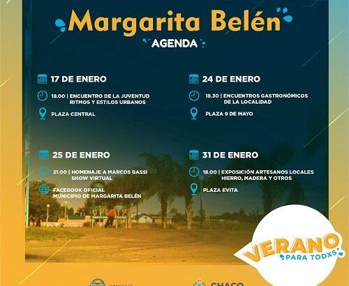 Verano para todos llega a Margarita Belén
