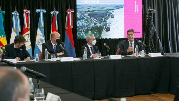 Ante el proceso licitatorio de la Hidrovía, Capitanich pidió un modelo con mayor protagonismo de las provincias