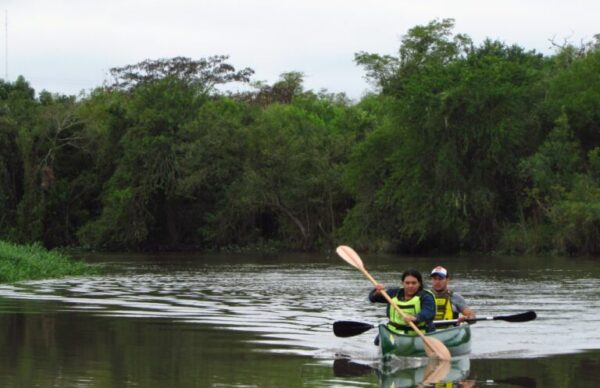 Campamento ecológico y cultural a orillas del río Tragadero 1