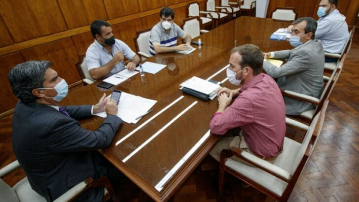 Capitanich e intendentes buscan definir obras prioritarias de infraestructura social básica