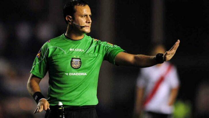 Darío Herrera el elegido para dirigir la final entre River y Racing