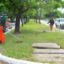El Municipio capitalino desarrolló un fuerte operativo de limpieza y saneamiento a lo largo de la avenida Hernandarias