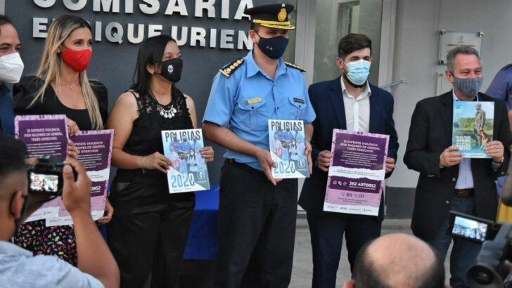 Enrique Urien: el Estado provincial invierte en seguridad pública