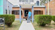 La Clotilde: firman convenio para la refacción del Registro Civil y la construcción de veredas