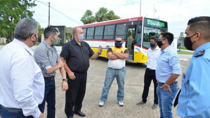 Resistencia: el intendente acompañó la presentación de nuevas unidades de transporte público de pasajeros de la Línea 5