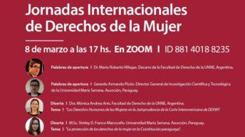 Unne: académicos abordan los Derechos de la Mujer en Argentina y Paraguay