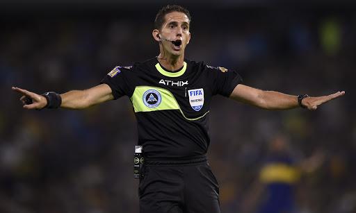 El árbitro Lamolina,defendió sus polémicas decisiones en el partido River ante Argentinos
