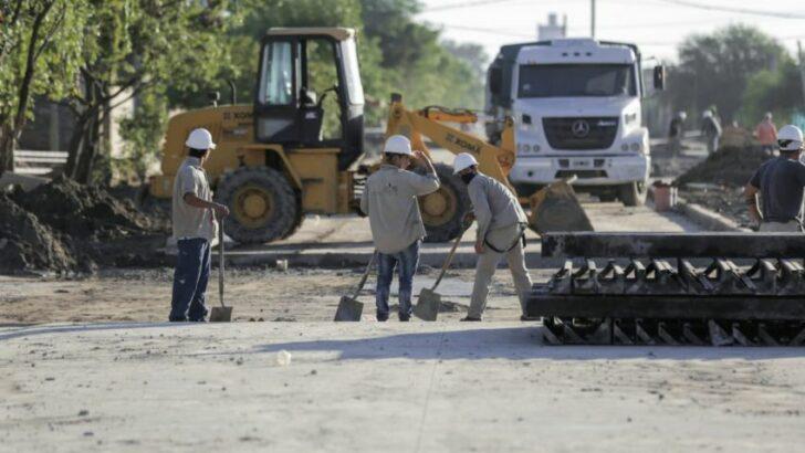 El Gobierno provincial avanza con la pavimentación de la avenida San Martín en Resistencia
