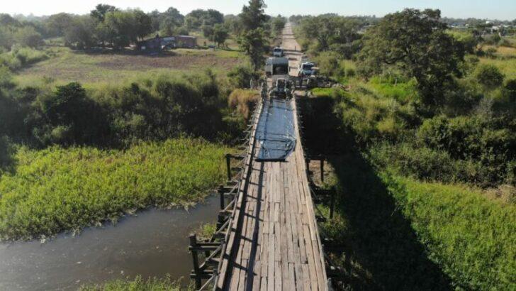 Fontana: Vialidad Provincial reparó el puente Bergagno