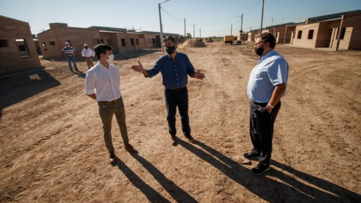 Gran Toba: supervisaron la ejecución de 50 viviendas en la chacra 24