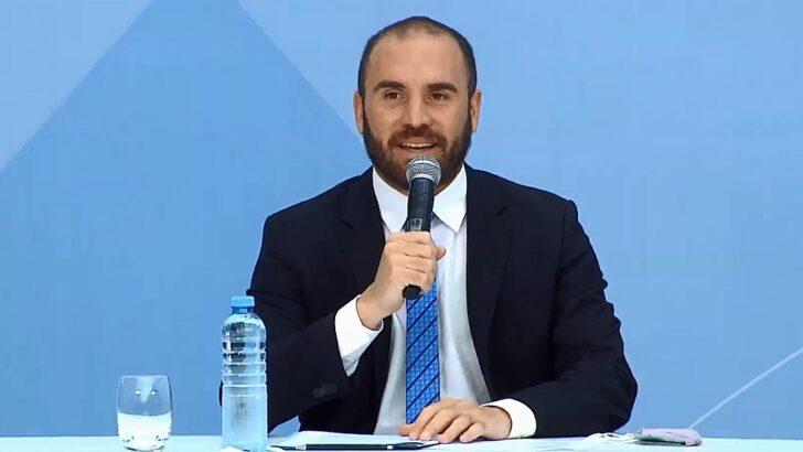 Guzmán encabeza una misión argentina que se reunirá con inversores, el FMI y el Banco Mundial