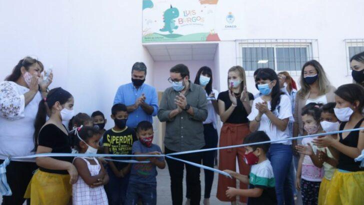 La Rubita: Capitanich inauguró un jardín de infantes y una sala de primeros auxilios