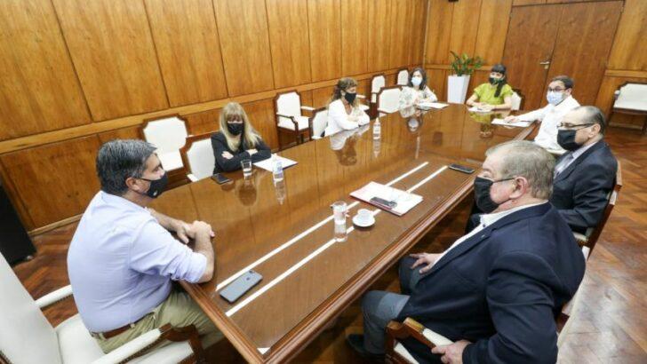 Poder Judicial y Gobierno definieron una mesa de trabajo para tratar temas prioritarios