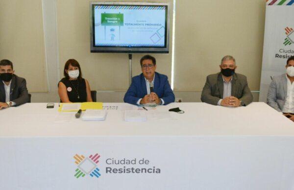 Resistencia: Gustavo Martínez presentó un proyecto para la implementación de un Código Único de Tránsito y Transporte