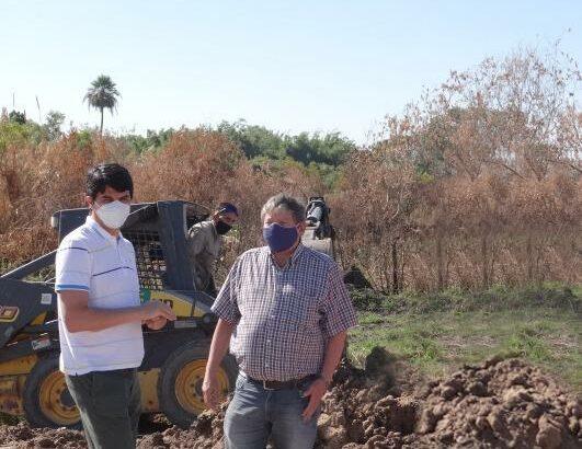 Resistencia: Sameep avanza con la extensión de redes de agua potable en el barrio Zampa II