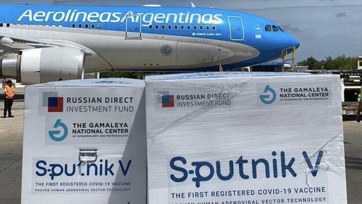 Sputnik V: Aerolíneas Argentinas concretó su octava misión a Moscú