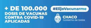 100 mil dosis #ElijoVacunarme