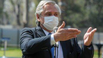 Alberto Fernández: «Vacuna que entra se distribuye de manera igualitaria»