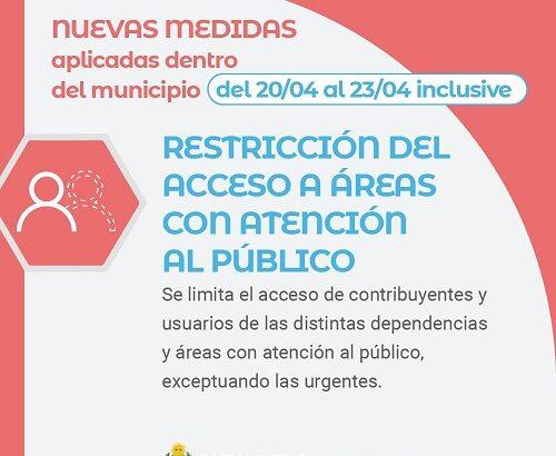 Barranqueras determinó nuevas medidas de restricciones