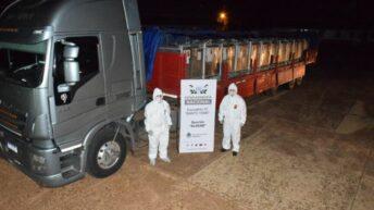 Corrientes: incautan nueve toneladas de acetato de etilo