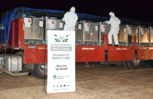Corrientes: Incautan nueve toneladas de acetato de etilo 2