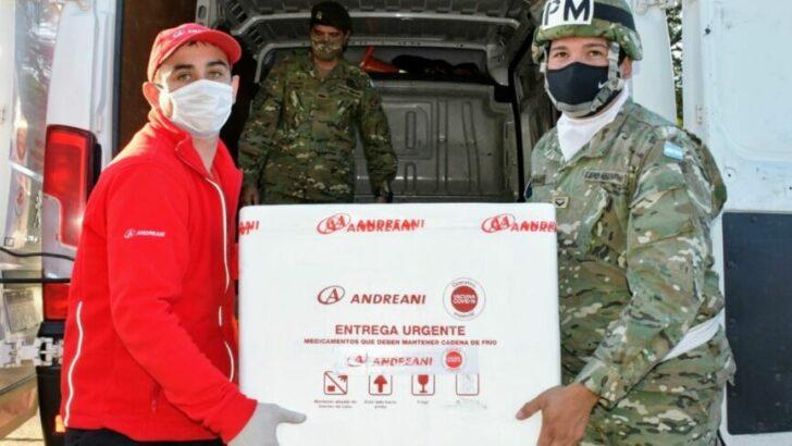 Covid 19 en Chaco: ingresaron 5.400 dosis de la vacuna Sinopharm
