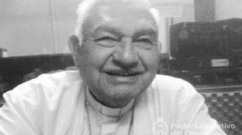Diputados adhiere a los tres días de duelo por el fallecimiento del monseñor Fabriciano Sigampa