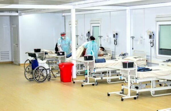 El hospital modular suma 26 nuevas camas de UTI Covid 19