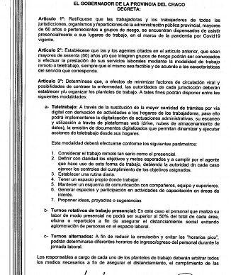 El Ministerio de Salud Pública podrá convocar a trabajadores de la cartera a realizar tareas de manera presencial.