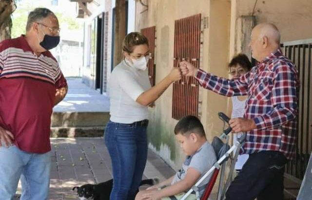 El Municipio de Barranqueras comienza a saldar la deuda histórica de pavimento