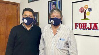 Elecciones en el IDACh: Raúl Acosta y Gustavo Mendoza acordaron la presentación de Forja