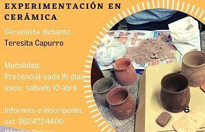 Formación, investigación y experimentación en cerámica en el cecual