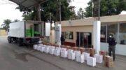 Formosa: Gendarmería secuestró 25.440 atados de cigarrillos de contrabando
