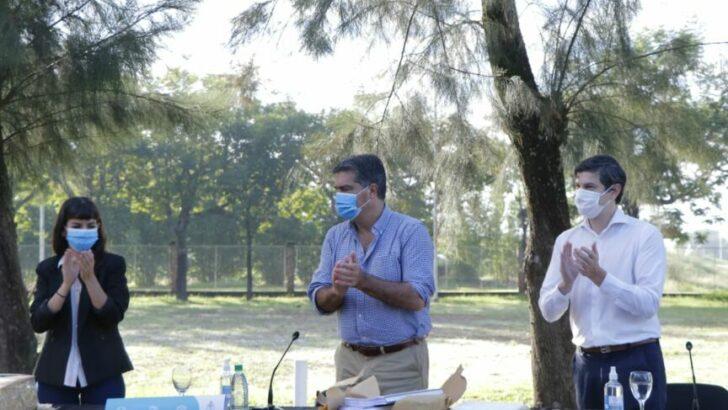 Jorge Capitanich abrió ofertas para la licitación de 660 viviendas que se construirán en el ex campo de Tiro
