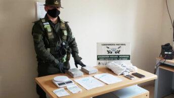 Mendoza: ocultaban más de 2 kilos de cocaína adheridos al cuerpo