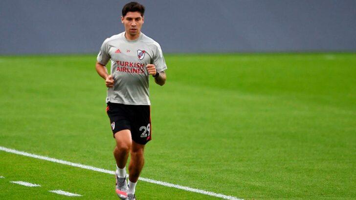 Montiel se recuperó de una mononucleosis y jugará ante Arsenal