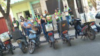 Motomandados recibieron aporte de la Fundación Chaco Solidario