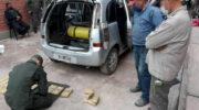 Salta: Gendarmería decomisó mas de 21 kilos de cocaína de un automóvil
