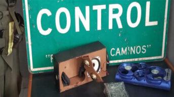 Salta: ocultaba cocaína en el interior de un parlante portátil